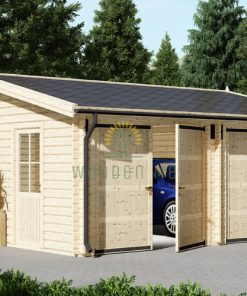 Garage alternative (6m x 6m), 44mm/66mm
