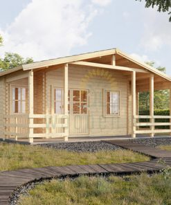 Wooden cabin Paris (6.7m x 5.7m)