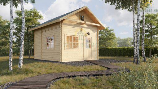 Garden house with palėpe Avignon 19,9 m² + 16,6 m²