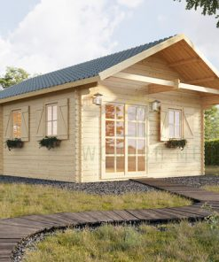Wooden summerhouse SCOOT (4.5m x 6m)