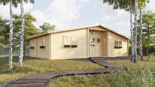 Wooden summerhouse Fill (10.5m x 6m)