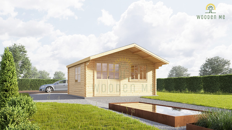 Wooden cabin Lille