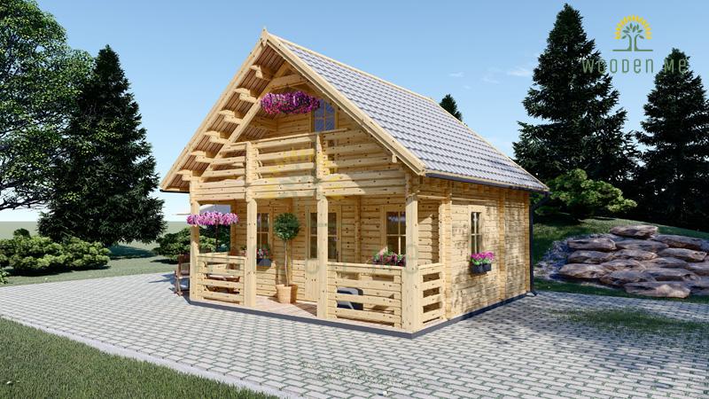 Livington (6m x 6m cabin with loft)