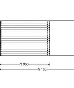 Aisne plus 9 m2, 28 mm - Back sideAisne plus 9 m2, 28 mm - Back side