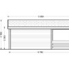 Wooden house Shanon (4m x 4m) + terrace