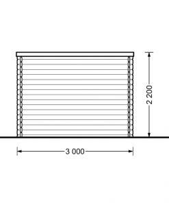 Aisne plus 9 m2, 28 mm - side