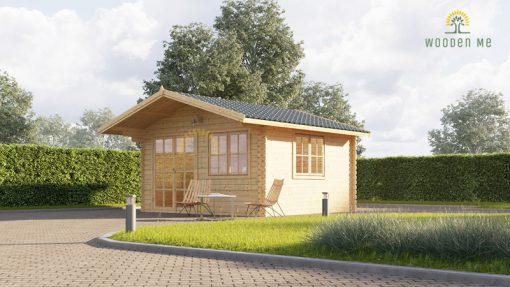 Garden house Wissous 12 m², 34 mm