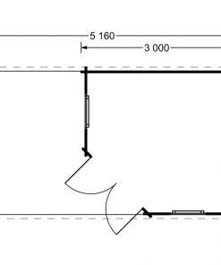Aisne plus 9 m2, 28 mm - Floor plan