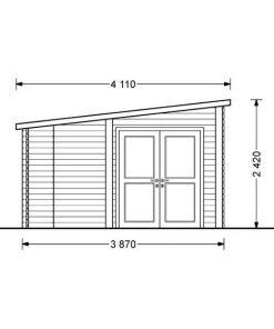 Carl 15 m2 + 6 m2 terrace