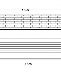 Royal 25 m2, 44 mm - Back side