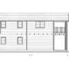 2 storey wood house,Toulouse (6m x 11m) -Right side