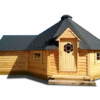 Grill cabin 16.5 m² with extension (1.8 m)