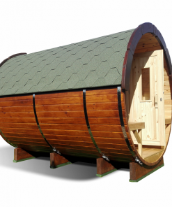 Sauna barrel 2.4 m - Pinewood