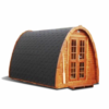 Sauna Pod 2.4 m x 3.5 m - thermo wood