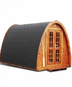 Sauna Pod 2.4 m x 3.5 m - thermo wood