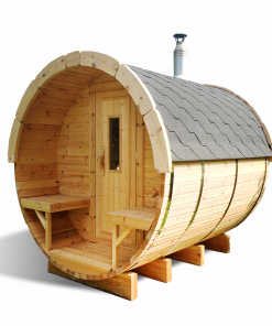 Sauna barrel 3.0 m - Pinewood