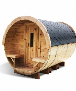 Sauna barrel 3.0 m - thermo wood