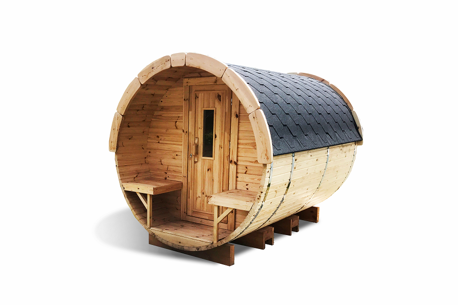 Sauna barrel 3.0 m - thermo wood