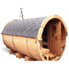 Sauna barrel 3.5 m - thermo wood