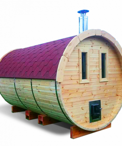 Sauna barrel 4.5 m - Pinewood