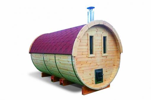 Sauna barrel 4.5 m - Pinewood