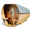 Sauna barrel 4.5 m - thermo wood