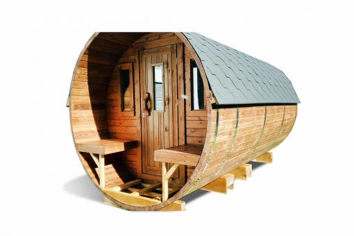 Sauna barrel 4.5 m - thermo wood