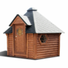 Sauna cabin 9.2 m² with changing room