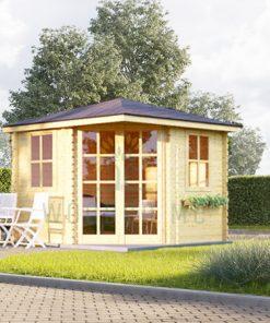 Corner cabin AISNE 9 m²