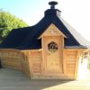 Exclusive grill cabin 9.2 m² with 2 m extension