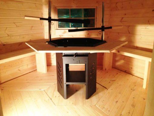 Grill cabin 6,9 m²