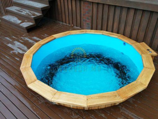 Terrace model hot tub