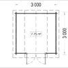 ORLANDO 9m² - floor plan