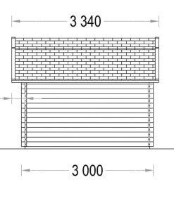 ORLANDO 9m² - Right side