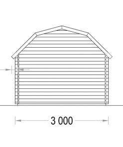 ORLANDO 9m² - Back side