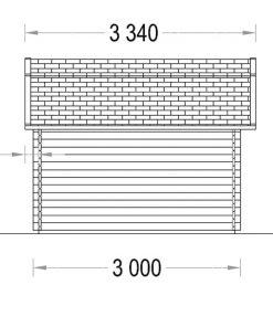 ORLANDO 9m² -side