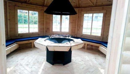 Grill pavilion