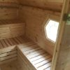 Grill cabin 9.2 m² with 2,5 m sauna extension