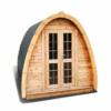 Sauna Pod/Camping POD 2.4 m x 5.5 m - Pinewood