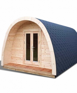 Insulated camping Pod 3 m x 4.8 m / 5.9 m