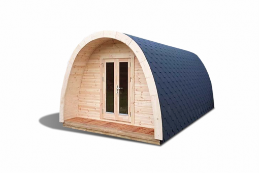 Insulated camping Pod 3 m x 4.8 m / 5.9 m
