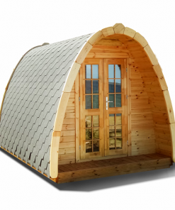 Camping Pod (cocoon) 2,4 m x 4,8 m - thermo wood