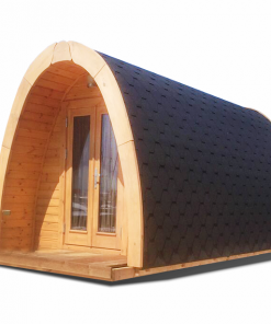 Insulated camping Pod 2.4 m x 5.9 m