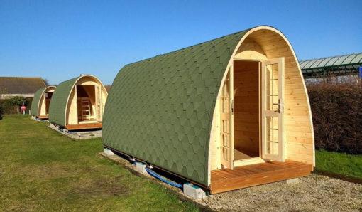cabin Pod (cocoon) 2,4 m x 5,9 m