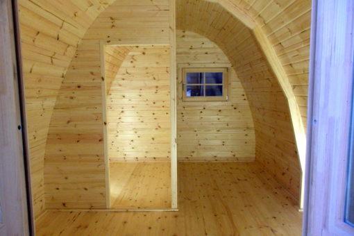 Camping Pod (cocoon) 3 m x 4,8 m
