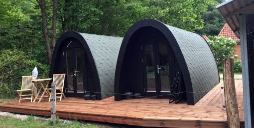 Insulated camping Pod 2.4 m x 4.8 m
