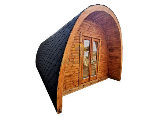 Insulated camping Pod 3 m x 5.9 m