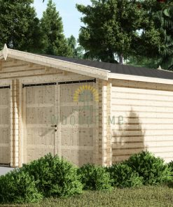 Double garage (6m x 6m), 44mm