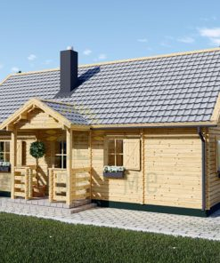 Wooden summerhouse EMMA (8m x 5.7m)