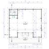 Wooden summerhouse MILA 56 m²